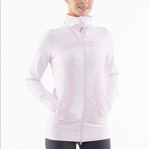 Lululemon In Stride Jacket Heathered Pig Pink